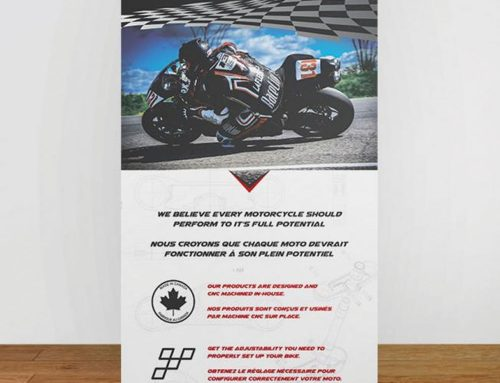 Forsaken Motorsports – Roll-Up Banner